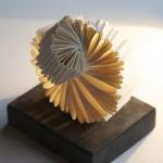 Whorl - 2013 Magnani handmade white wove paper 9cm x 11cm x 11cm
