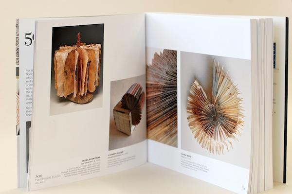 Flock pictured inside 500 Handmade Books - 2013
