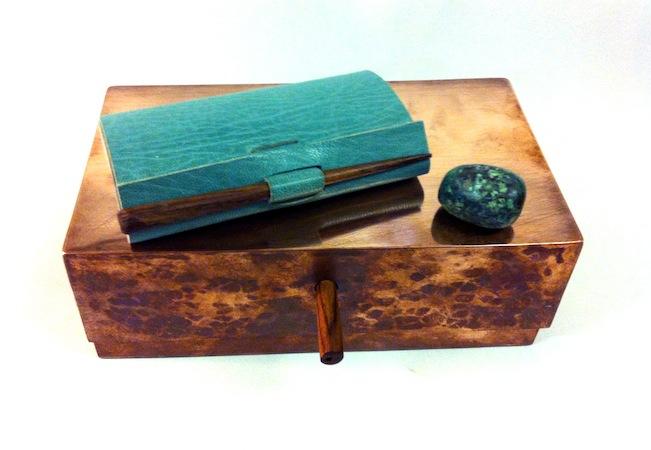 Louisa Boyd artist's book copper box