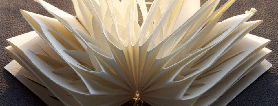 Book Art – The Paper Manipulation Series